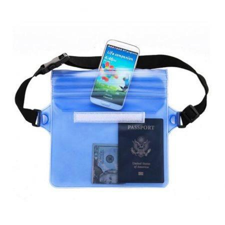 Image of Travel Waterproof Pouch Portable Touch Responsive Screen Storage Bag Beach Organizer