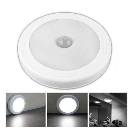 Image of Magnetic Infrared IR Bright Motion Sensor Activated LED Wall Lights Night Light