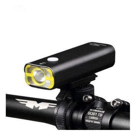 Image of WHEEL UP Usb Rechargeable Bike Light Cycling Led Light Flashlight Torch Headlight
