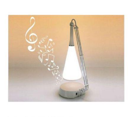 Image of Touch Sensor USB Led Table Music Lamp White