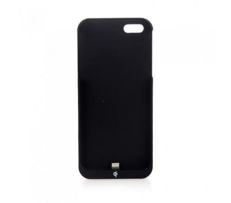 Image of Qi Wireless Charging Receiver for iPhone 5/5S Black