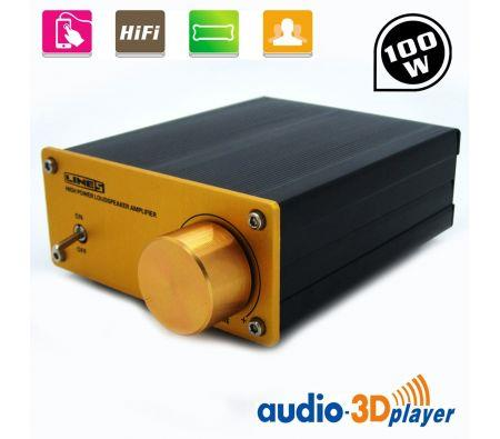 Image of 100 W Digital Power Hifi Amplifier With Stereo 2.1