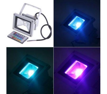 Image of 10W RGB LED Flood Light Waterproof Landscape Lamp