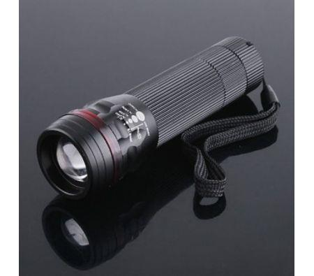 Image of 200LM Waterproof CREE LED Flashlight Torch Zoomable 3-Mode