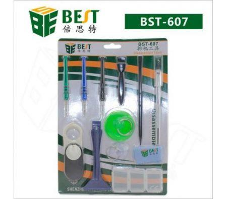 Image of BEST BST-607 Repair Maintenance Disassemble Tools Set for Iphone / Samsung (12 PCS)
