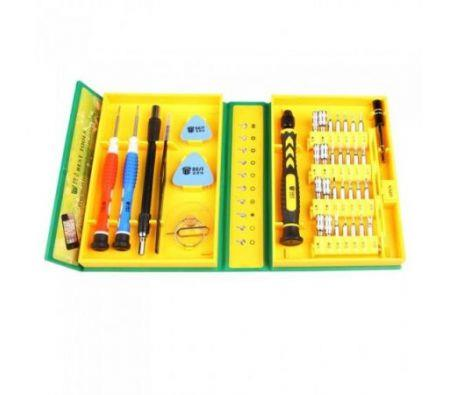 Image of 38 in 1 Versatile Precision Electronic Hardware Repair Tools Kit for iPhone Mobile Phone Laptop BEST-8921