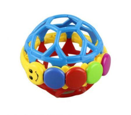 Image of New Baby Toys Pleastic Baby Rattles Grasping Bell Ball Sound Educational Toys