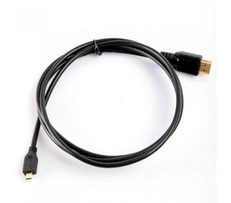 Image of 1.5m/5ft Version 1.4 Micro HDMI to HDMI Cable for Motorola Sony Ericsson Fuji F85EXR