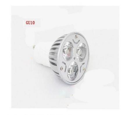 Image of 3W GU10 LED Light Lamp Bulb Spotlight Warm White
