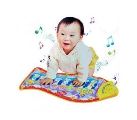 Image of Baby Children's Piano Music Fish Animals Play Fun Toys