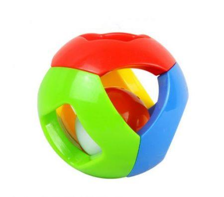 Image of Colorful Bell Ball Grasp Roll Toy Rattle Baby Educational Training Grasping