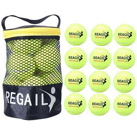 Image of 12Pcs Tennis Sheep Wool High Elasticity for Training Sport Ball