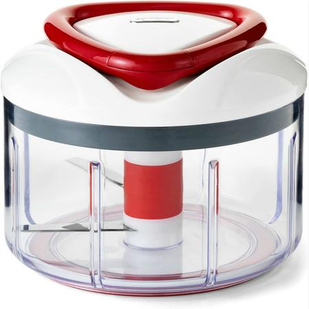 Image of Easy Pull Food Chopper and Manual Food Processor - Vegetable Slicer and Dicer - Hand Held
