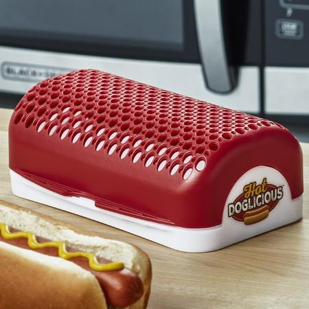 Image of Hot Doglicious Microwave Hot Dog Cooker