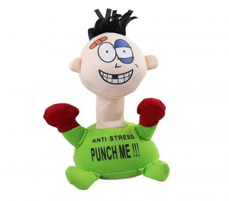 Image of Punch Me Anti-Stress Relieve Stress Anxiety Screaming Doll Plush Toy Comfortable Touching 23CM