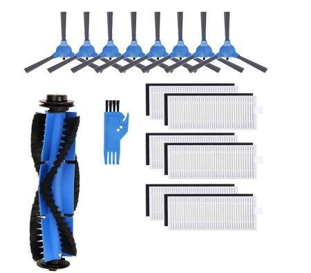 Image of Replacement Parts Compatible with Eufy RoboVac 11S, RoboVac 30, RoboVac 30C, RoboVac 15C,RoboVac 12, RoboVac 35C Accessory Robotic Vacuum Cleaner Filters, Side Brushes,Rolling Brushe