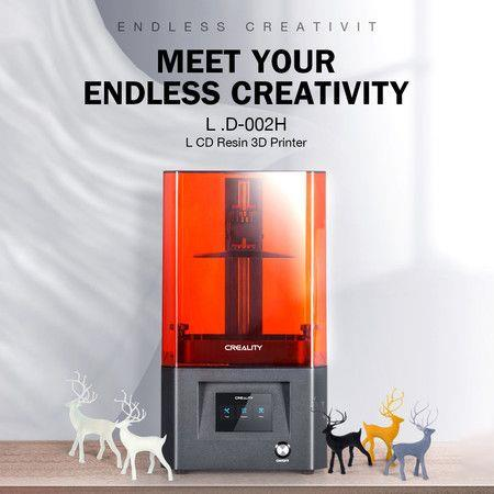 Image of Creality LD-002H Resin 3D Printer with High Precision LCD Screen UV and Light Source 130x82x160MM