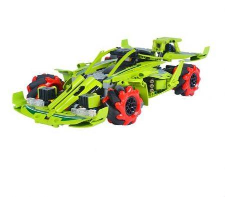 Image of City RC Auto Technic Car Technic Car Building Blocks Motor RC Auto Technic Car with Remote Control Racing Vehicle Toys for Children (Color : Green)