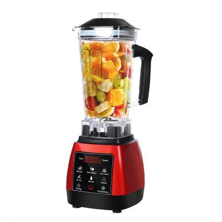 Image of 2L Commercial Blender Mixer Food Processor Kitchen Juicer Smoothie Ice Crush Red