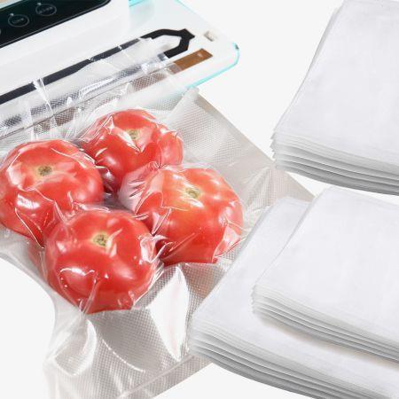 Image of 500x Commercial Grade Vacuum Sealer Food Sealing Storage Bags Saver 25x35cm