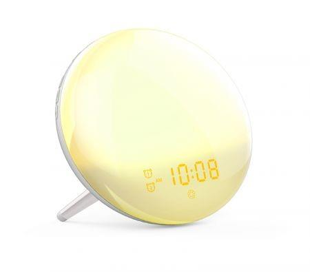 Image of Sunrise Alarm Clock Wake up Light up Alarm Clock Sunrise Dekala Natural Light Alarm Clocks for Bedrooms Sunlight