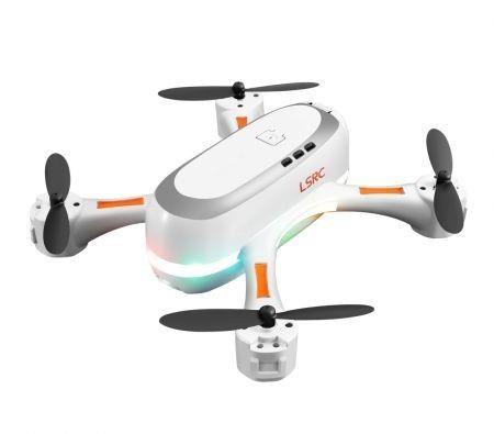 Image of 2021 Dual Cameras WIFI FPV Rainbow Mini Drone 720P HD 2xBatteries