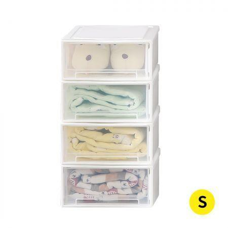 Image of Storage Drawers Set Cabinet Tools Organiser Box Chest Drawer Plastic Stackable