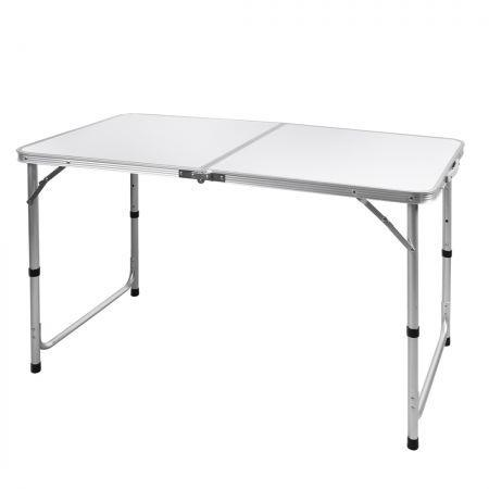 Image of Folding Camping Table Aluminium Portable Picnic Outdoor Foldable Tables 120CM