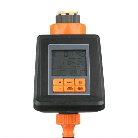 Image of Digital Plant Watering Timer, Automatic Irrigation Control Device, Water Saving, With LCD Display