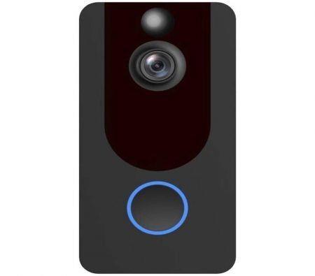 Image of Wireless WiFi Doorbell - 1080P 15Fps Motion Sensor Doorbell with 140 Wide-Angle Lens Smart Video Doorbell (only cloud storage version)