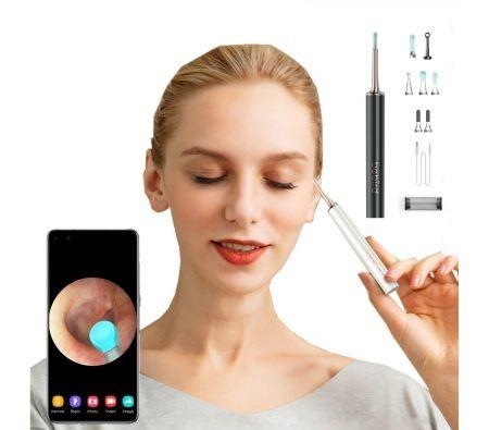 Image of 2021 Newest T15 Visual Ear Cleaner Minifit 2in1 Acne Wax Removal Cleaning Tool Health Care 300W Otoscope IP67 Waterproof Endoscope