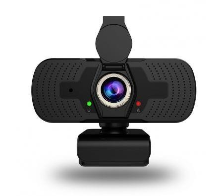 Image of 1080P Web Camera, HD Webcam with Microphone Privacy Cover USB Computer Camera Conferencing and Video Calling