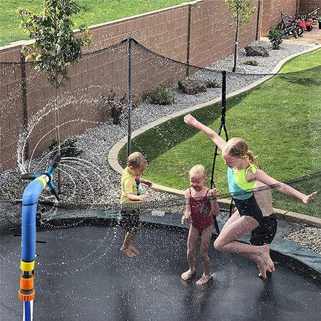 Image of Sprinkler Kids Fun Summer Outdoor Water Park-Game Sprinkler - Waterpark Toy for Boys Backyard Water Park Accessories