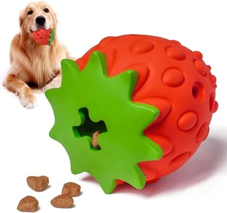 Image of Dog Chew Toys Nontoxic Bite Resistant Dog Interactive Toy for Small/Medium/Large Dogs Teeth Cleaning IQ Training