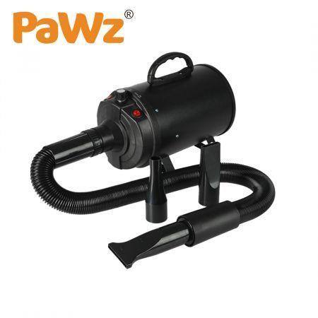 Image of Dog Cat Pet Hair Dryer Grooming Blow Speed Hairdryer Blower Heater Blaster 2800W