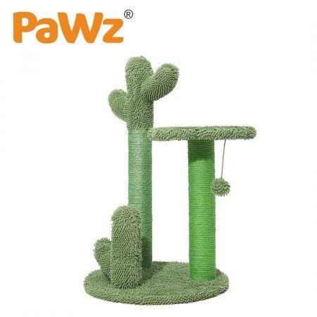 Image of PaWz Cat Tree Scratching Post Scratcher Furniture Condo Tower House Trees L