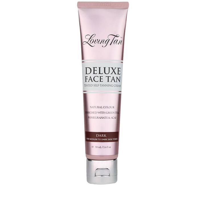 Loving Tan Deluxe Face Tan Dark 50ml