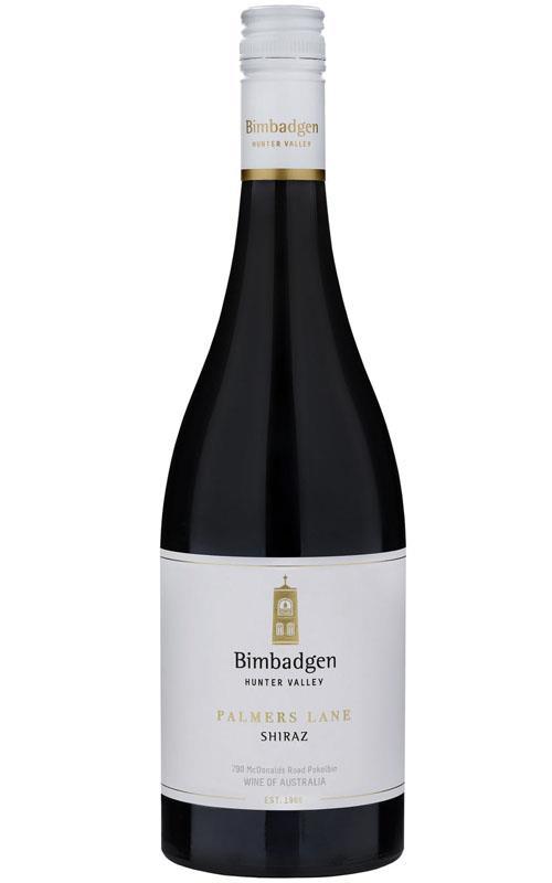 Bimbadgen Single Vineyard Palmers Lane Shiraz 2017 Hunter Valley - 6 Bottles