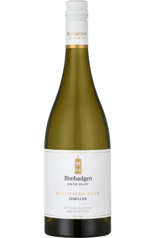 Bimbadgen Single Vineyard McDonalds Road Semillon 2018 Hunter Valley - 6 Bottles
