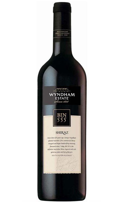 Image of Wyndham Estate Bin 555 Shiraz 2019 SEA - 6 Bottles