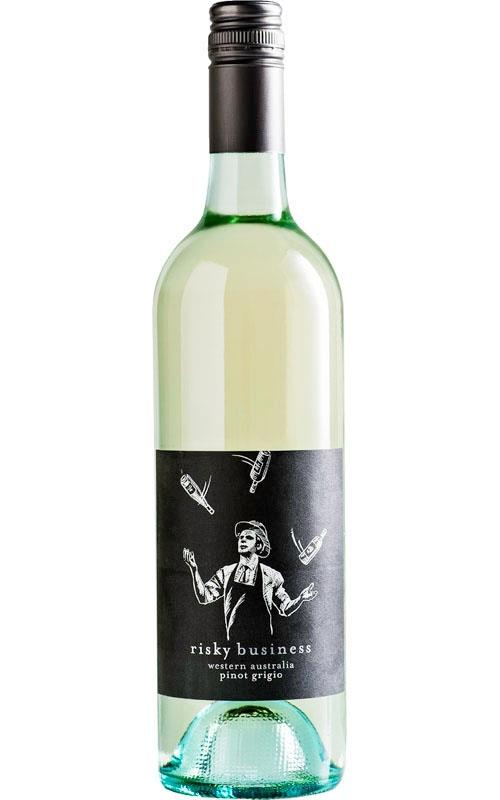 Risky Business Pinot Grigio 2019 King Valley - 12 Bottles