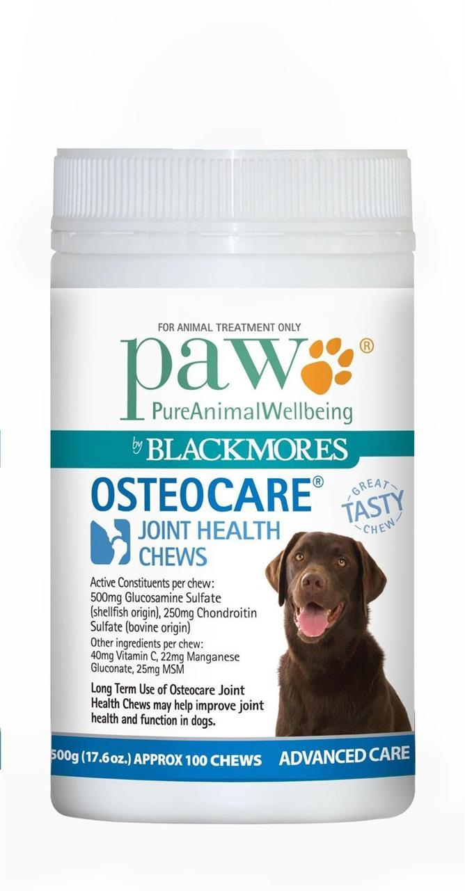 PAW Osteocare Joint Health Chews 300g - 60 Chews