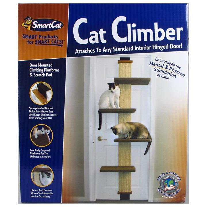 SmartCat Multi-Level Over-the-door Cat Climber Scratch Tower
