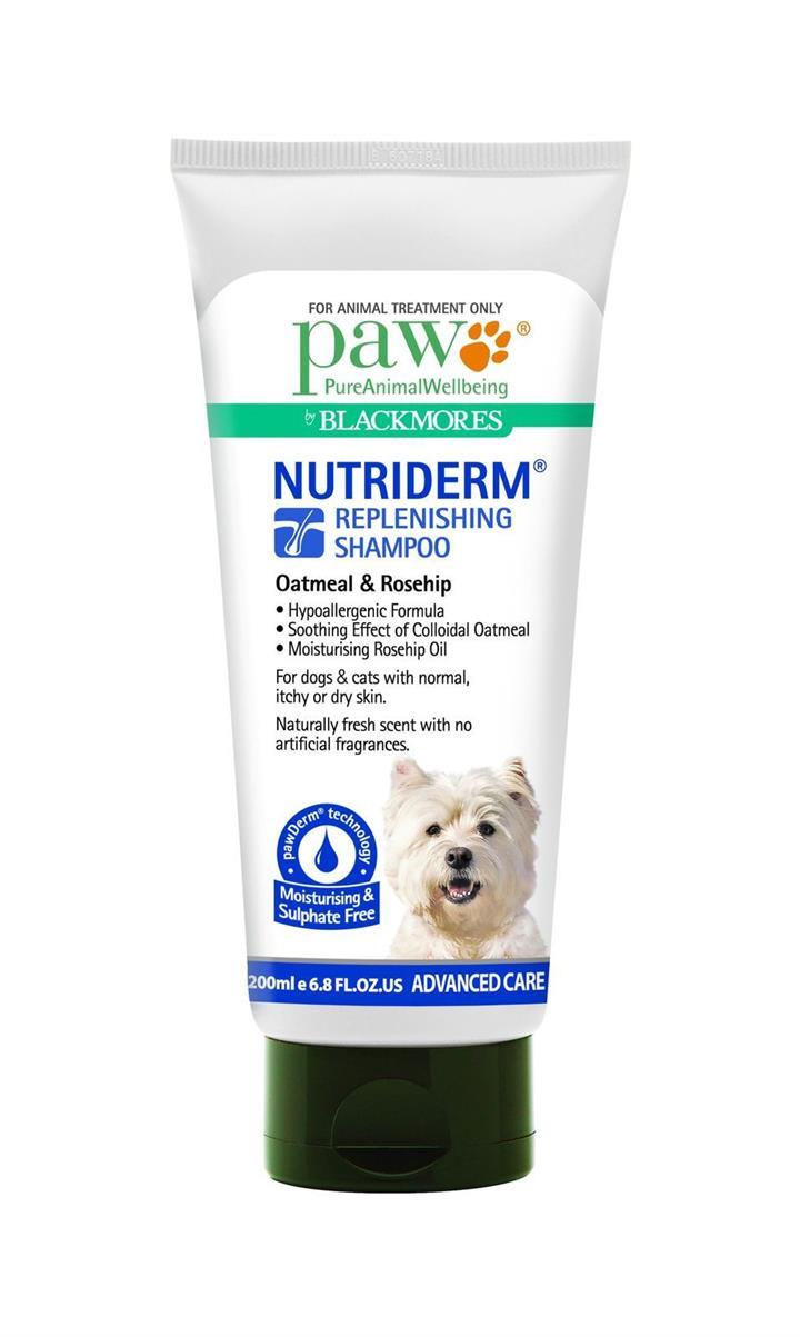 PAW NutriDerm Replenishing Shampoo for Dogs 200ml