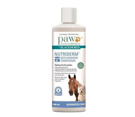 PAW NutriDerm Replenishing Conditioner for Dogs & Horses 500ml