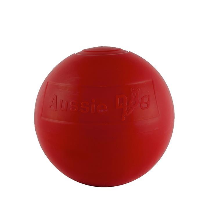 Aussie Dog Enduro Ball Non-Toxic Hard Plastic Tough Dog Toy - Large