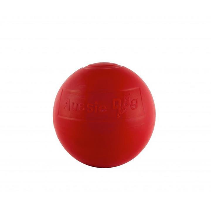 Aussie Dog Enduro Ball Non-Toxic Hard Plastic Tough Dog Toy - Medium