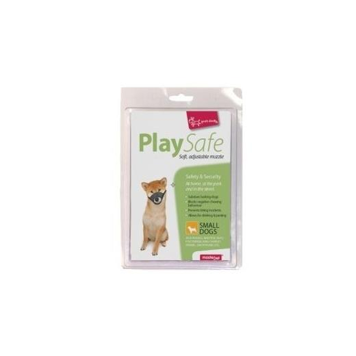 """Yours Droolly """"Play Safe"""" Soft Dog Muzzle [Size: Small]"""