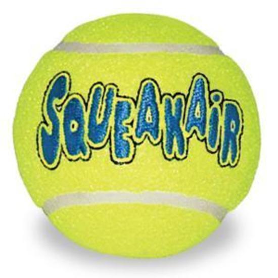 KONG AirDog Squeaker Non Abrasive Tennis Ball Dog Toy - Medium