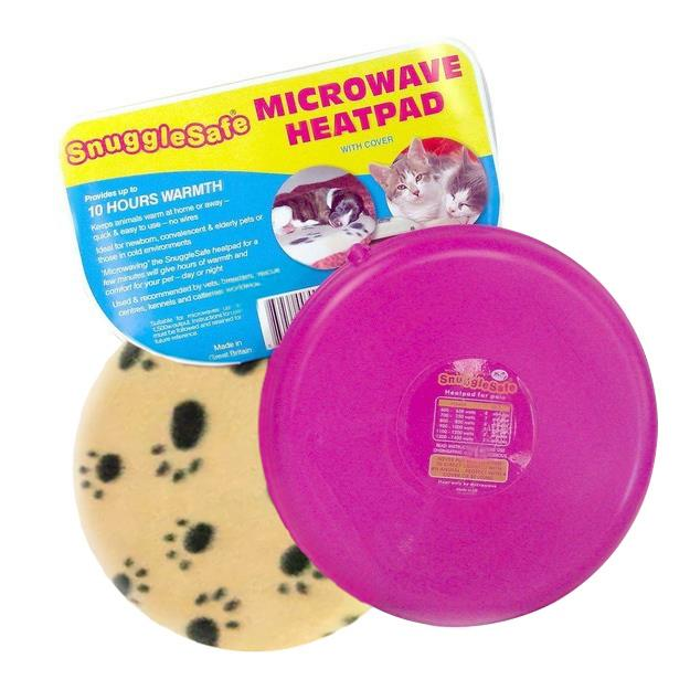 SnuggleSafe Microwave Heat Pad for all Pets